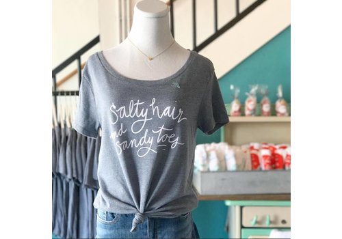 Declaration & Co. Salty Hair Graphic Tee