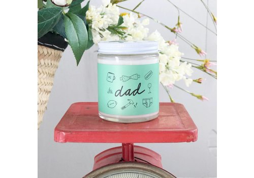 Declaration & Co. Dad Mini Candle