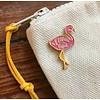 Declaration & Co. Flamingo Enamel Pin