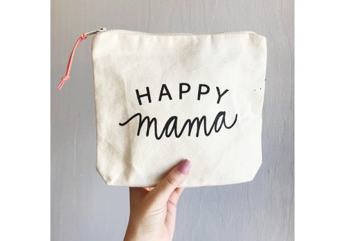 Declaration & Co. Happy Mama Zipper Pouch