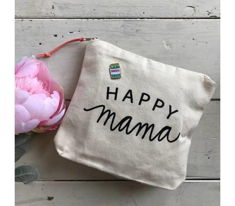 Happy Mama Zipper Pouch