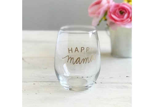 Declaration & Co. Happy Mama Wine Glass