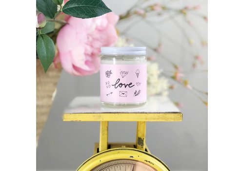 Declaration & Co. Love Mini Candle