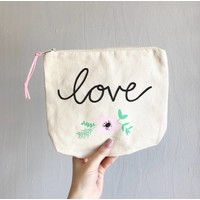 Love Zipper Pouch