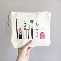 Makeup Zipper Pouch