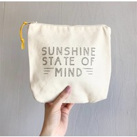 Sunshine Zipper Pouch