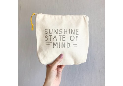 Declaration & Co. Sunshine Zipper Pouch