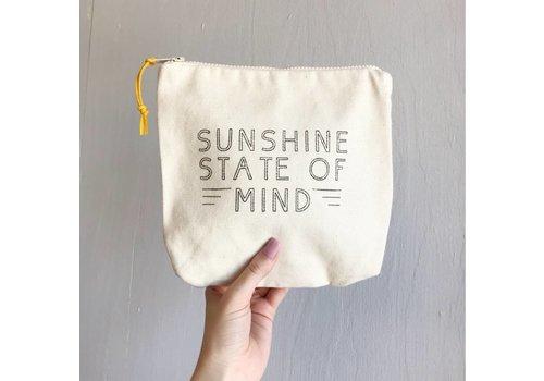 Declaration & Co. Sunshine Zipper Pouch