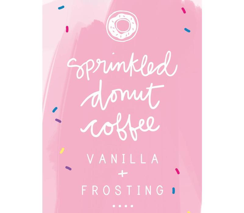 D & Co. Sprinkled Donut Coffee Mini