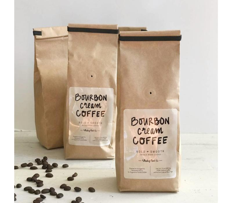 Bourbon Cream Whole Bean Coffee