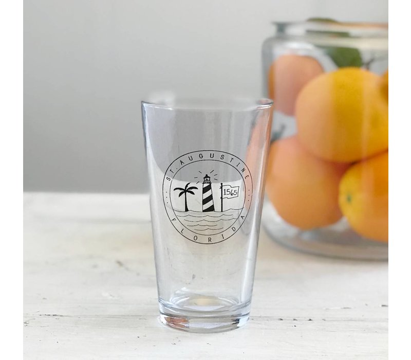 St. Augustine Beer Glass