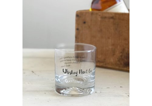 Declaration & Co. Whiskey Neat Glass