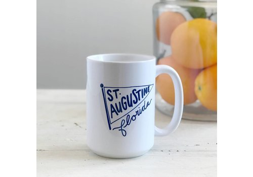 Declaration & Co. St. Augustine Pennant Mug