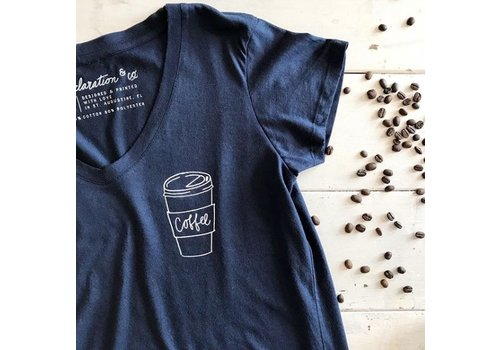 Declaration & Co. Coffee Tee