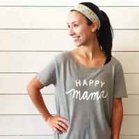 Happy Mama Graphic Tee