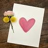 Declaration & Co. Pink Heart print