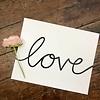 Declaration & Co. Love print