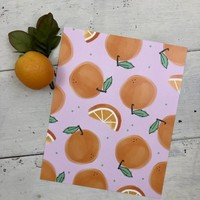 Lots of Oranges print