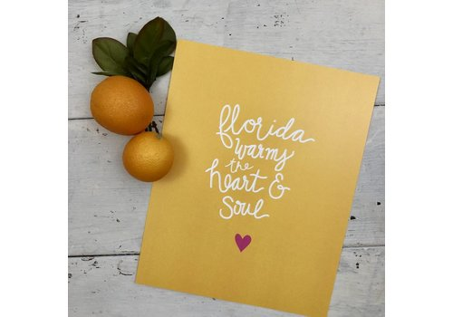 Declaration & Co. Heart & Soul print