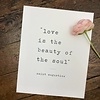 Declaration & Co. Beauty of the Soul print