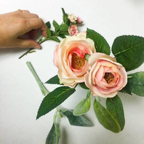 DIY Faux Floral Arrangements
