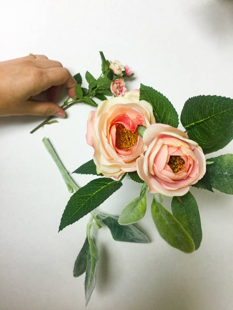 DIY Faux Floral Arrangements