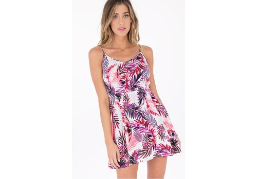 ShopB2Z Pink Palm Dress