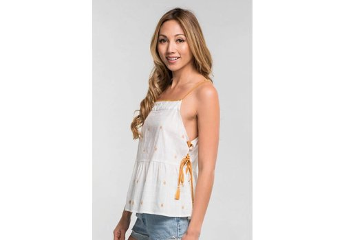 Love Stitch Side Tassel Cami