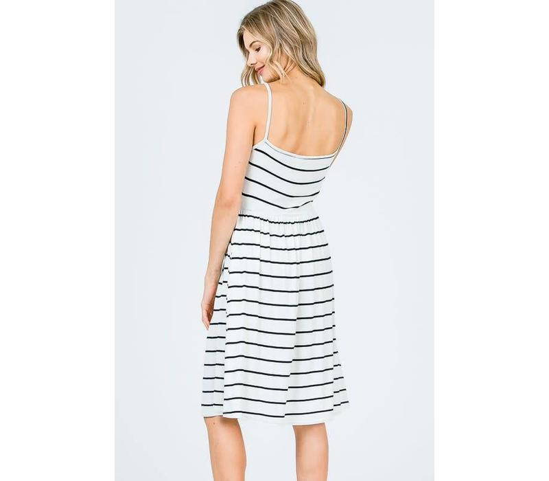 BW Striped Cami Dress