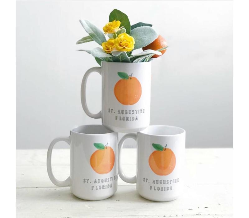 Aug Orange Mug