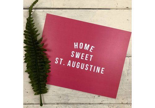 Declaration & Co. 810 Print Home Sweet St. Aug