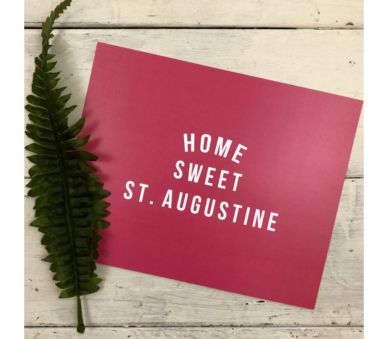 810 Print Home Sweet St. Aug