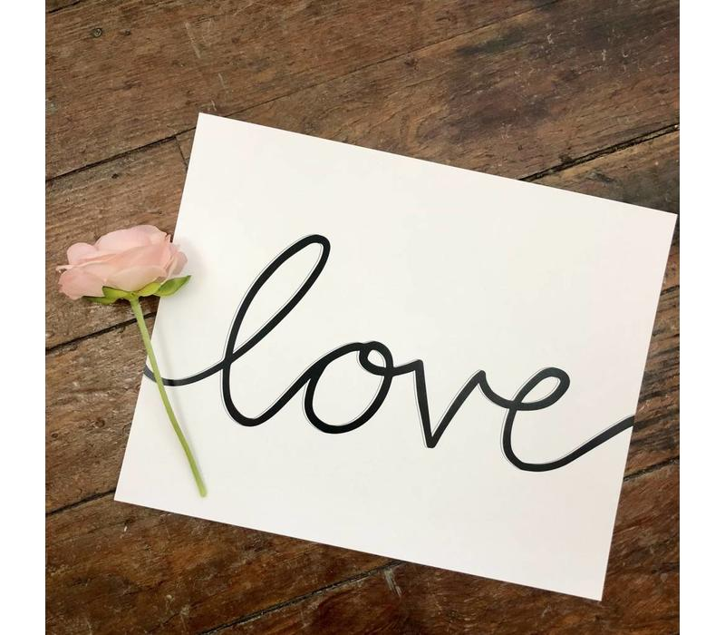 810 Print Love