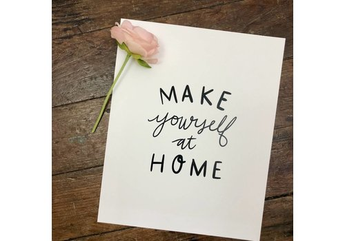 Declaration & Co. 810 Print Make Yourself at Home