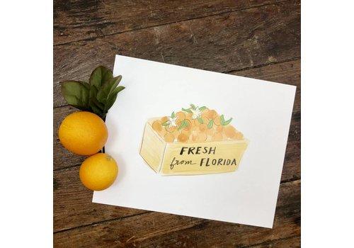 Declaration & Co. 810 Print Orange Crate