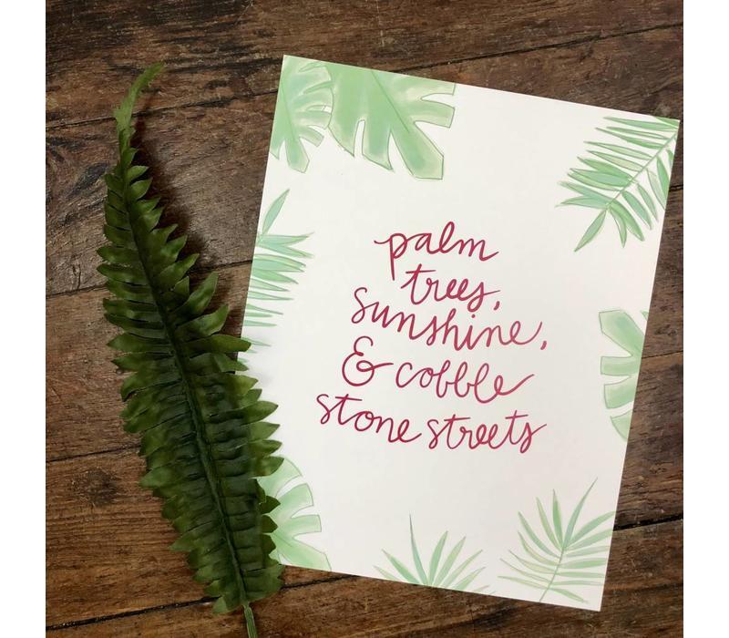 810 Print Palm Trees