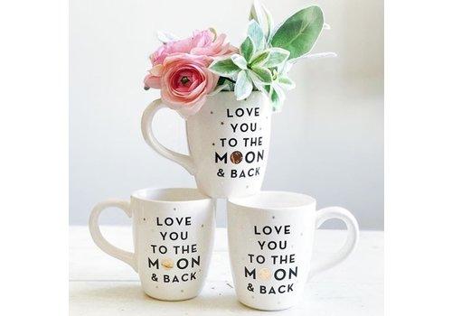 Declaration & Co. Love You To The Moon Mug