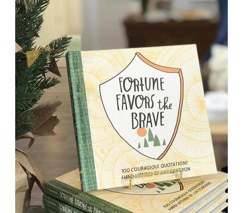 Fortune Favors the Brave Book