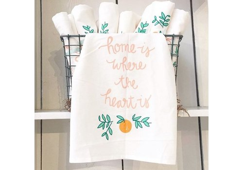 Declaration & Co. Home Heart Tea Towel