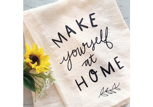 Declaration & Co. Make Yourself at Home Tea Towel