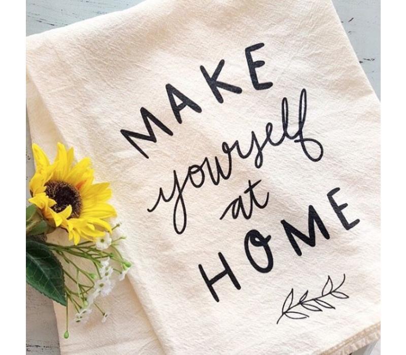 Make Yourself at Home Tea Towel