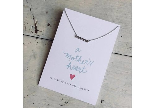 Declaration & Co. Mommy Necklace