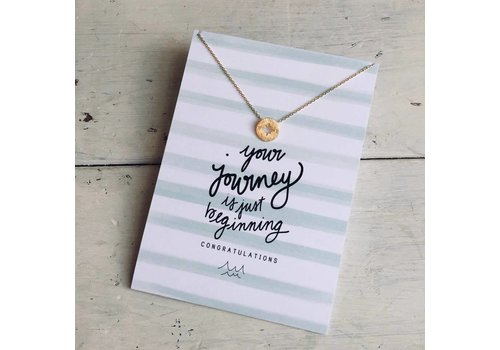 Declaration & Co. Compass Necklace