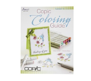 COPIC COLORING GUIDE LEVEL 1 - The Gilded Rabbit