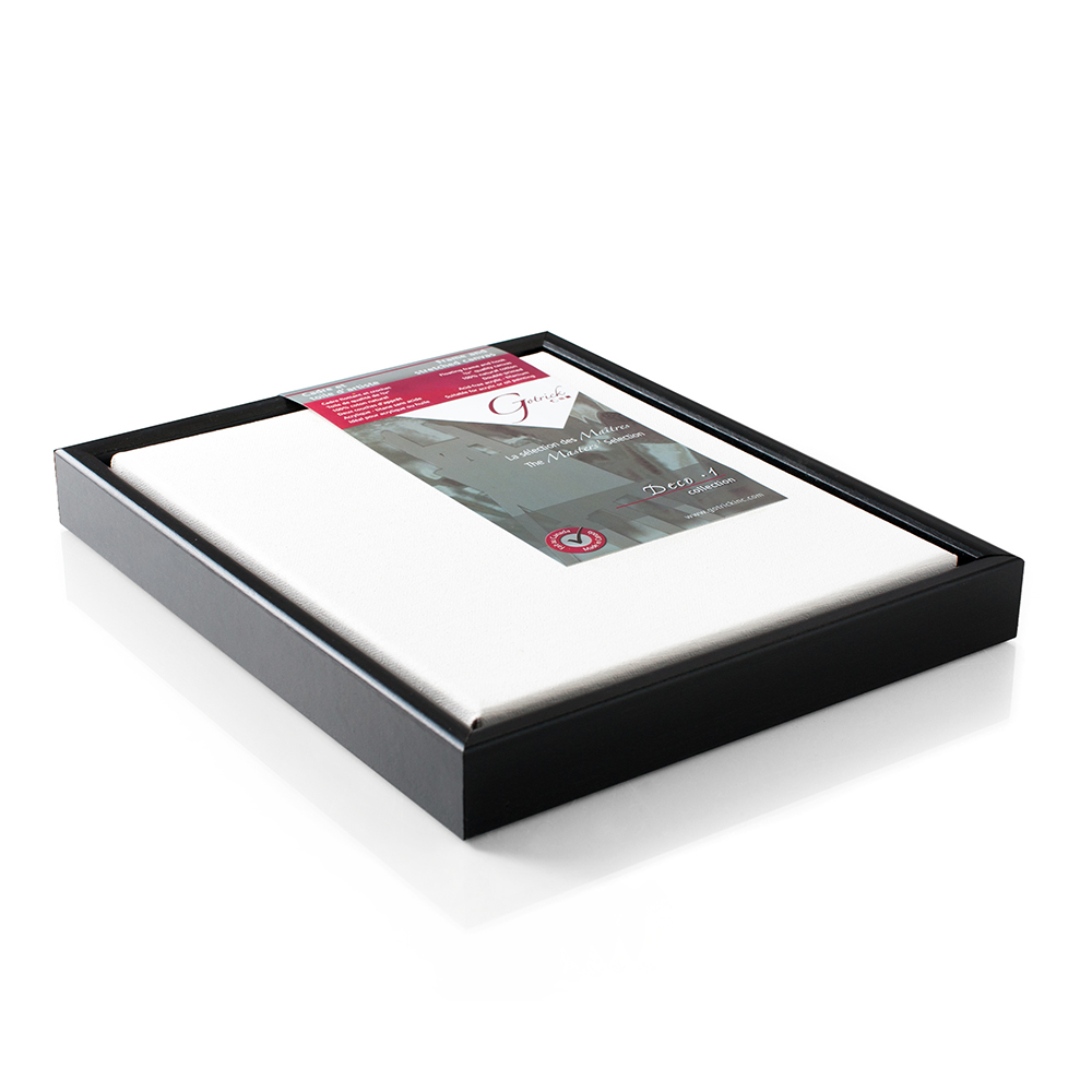 Gotrick Deco Canvas With Black Floating Frame