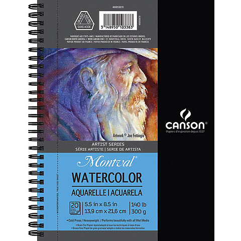 Canson Montval Watercolour Sketchbooks