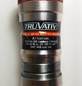 TruVativ GIGAPIPE MAXIMUM TI 113x68 BB W/M-12-THREADS