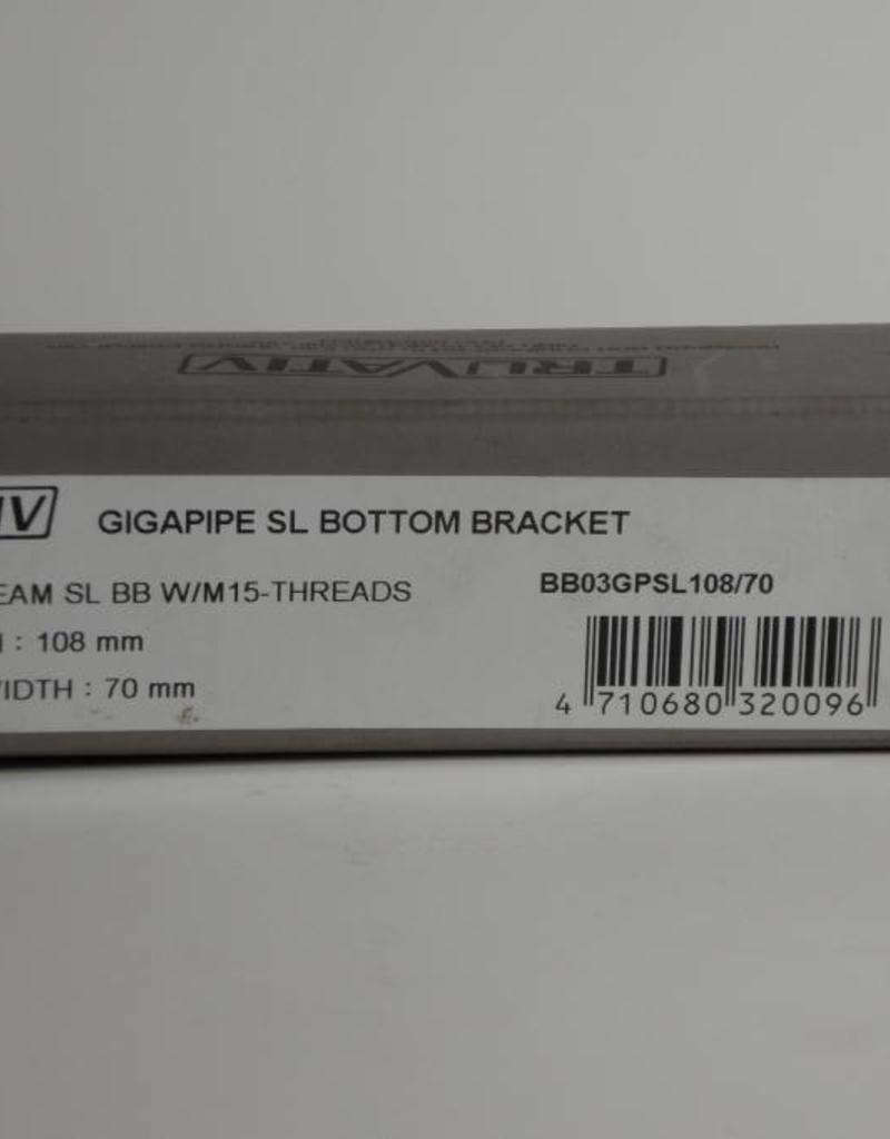 TruVativ GIGAPIPE TEAM SL 108x70 BB W/M-15-THREADS