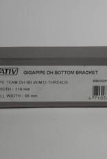TruVativ GIGAPIPE TEAM DH 118x68 BB W/M-12-THREADS