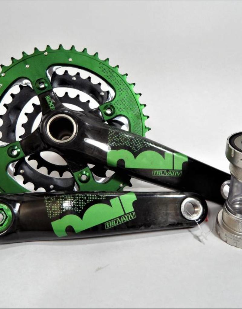 Truvativ Noir XC 3.3 Team Carbon Crankset & Bottom Bracket
